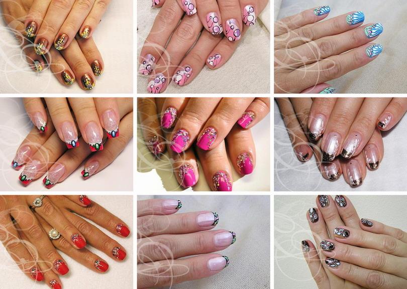 Фото дизайн на ногтях схема